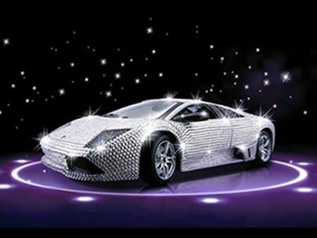 Lamborghini Cu 7 000 De Cristale Swarovski