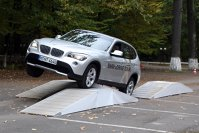 BMW X1 pe denivelari mari