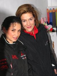 Nicoleta Luciu si Roxana Ciuhulescu