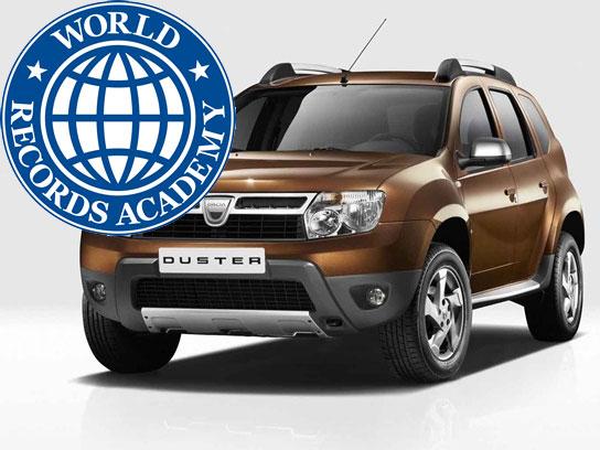 Dacia Duster deţine un record mondial