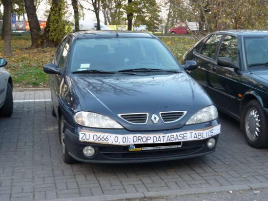 Idee franceza: cum sa fii hacker anti-radar. Pare interesant, in parcare...