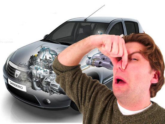Dacia Sandero GPL şi mirosul de gaz
