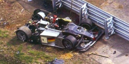 Michele Alboreto accident
