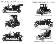 Versiunile lui Ford T