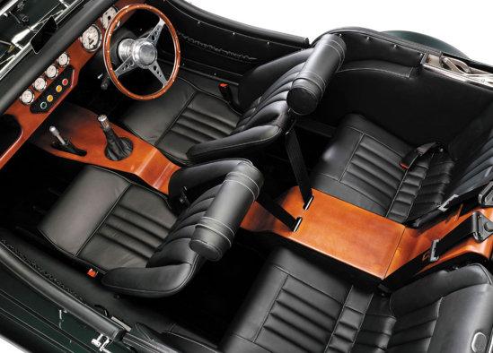 Morgan Roadster 4 Seater interior