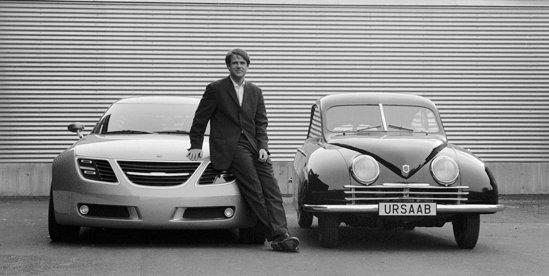 Saab 92001 la aniversarea 60 de ani