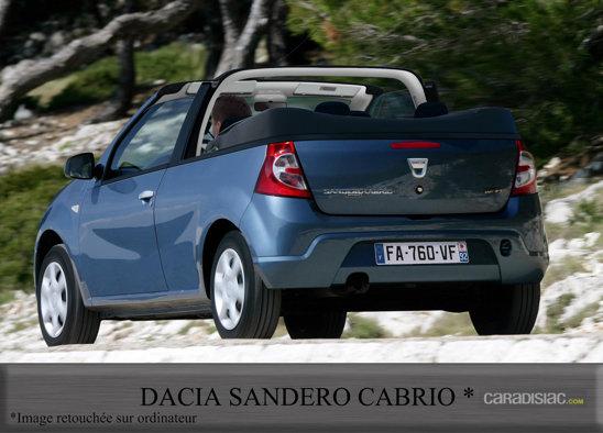 Dacia Sandero Cabrio