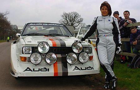 Michelle Mouton şi Audi S1