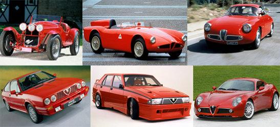 Modele istorice Alfa Romeo