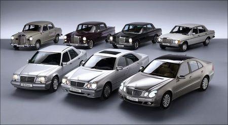 Roadele moderne ale uniunii Daimler si Benz