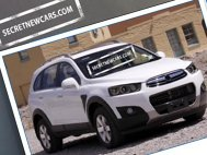 Poze spion: Chevrolet Captiva facelift