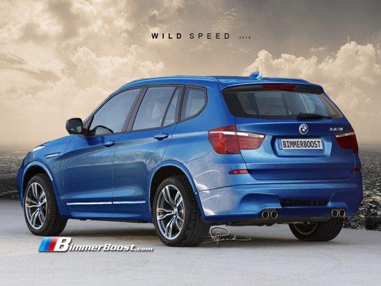 Pentru BMW X3 M ar fi suficient un motor de 420 CP, iar demarajul 0-100 km/h s-ar face in 5,5 secunde