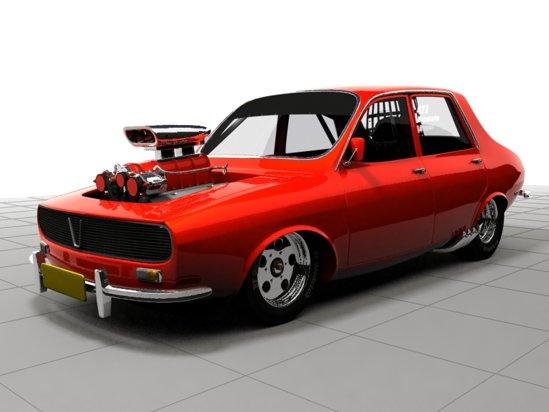 Dacia ProStreet este propunerea pentru o masina de curse in spirit american