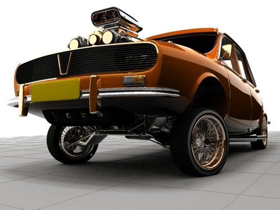 Dacia Low Rider ar face, in realitate, un show extraordinar in parcarea de la mall