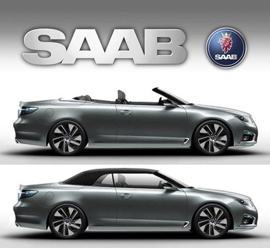 Saab 9-5 Convertible - de ce nu? O propunere deocamdata doar virtuala