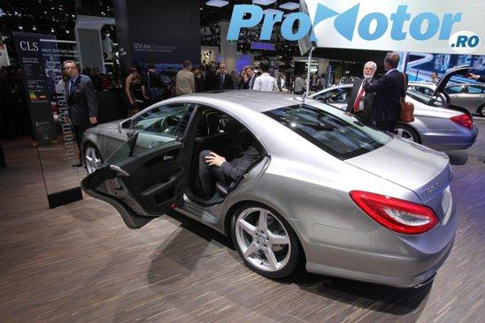 Mercedes CLS va avea de luptat din greu cu noii concurenti