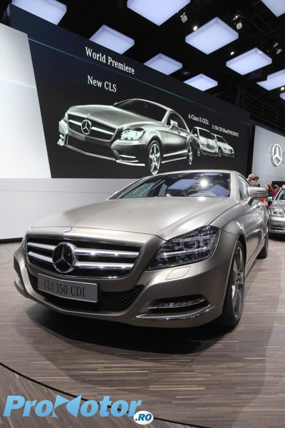 Mercedes CLS - Live la Paris 2010