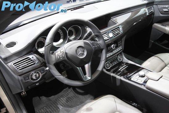 Interiorul lui Mercedes CLS