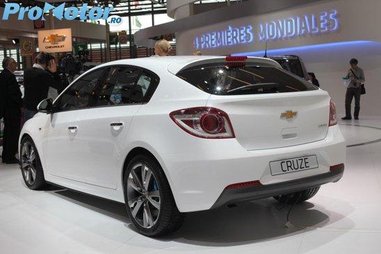 Deocamdata, Chevrolet Cruze hatchback este denumit concept