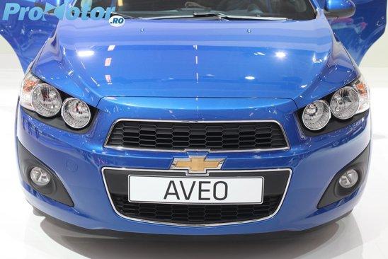 Noul Chevrolet Aveo in premiera mondiala la Salonul Auto Paris 2010
