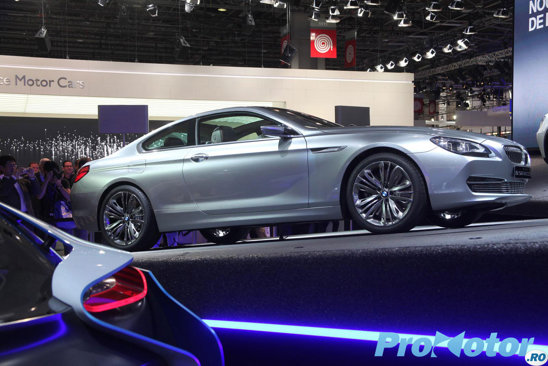 BMW Seria 6 Concept a fost magnetul in standul BMW