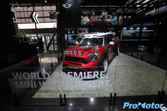 Din 2011, pedigree-ul sportiv Mini este pus la treaba in WRC datorita acestui Countryman