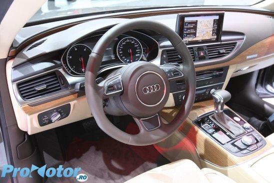 Interior foarte luxos si cu tuse extravagante pentru Audi A7
