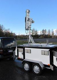 Super-radar-ul finlandez in teste