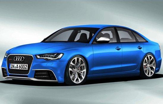 Viitorul Audi RS6, deocamdata doar ca randare, realizata de EDL Design
