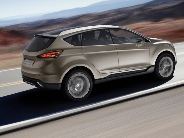 Detroit 2011: Ford Vertrek Concept