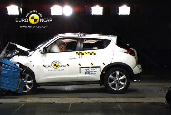 Nissan Juke - 5 stele Euro NCAP