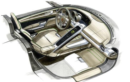 Porsche 918 Spyder are un sistem de propulsie hibrid, de peste 700 CP, dar consuma doar 3,0 litri/100 km