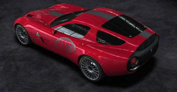 Zagato Alfa Romeo TZ3 Stradale se va baza pe Dodge Viper, nu pe Alfa Romeo 8C, ca TZ3 Corsa