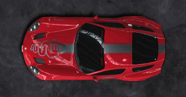 Premiera mondială a lui Zagato Alfa Romeo TZ3 Stradale va avea loc la Pebble Beach