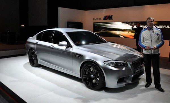 BMW M5 Concept va fi inaugurat oficial la Salonul Auto Shanghai 2011