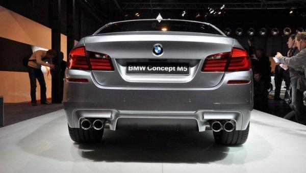 Modelul de serie BMW M5 va arata aproape neschimbat fata de acest concept