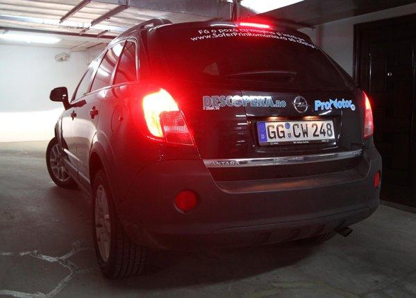 Start in cursa SOFER PRIN ROMANIA, cu noul Opel Antara