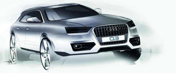 Audi Q3 a fost prefigurat acum 4 ani de conceptul Audi Cross Coupe quattro