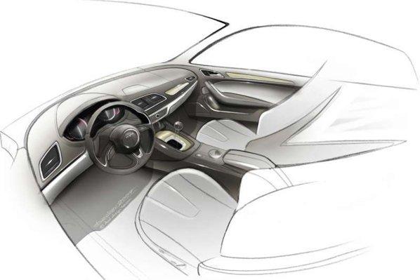Audi Q3 este bazat tehnic pe Audi A1 si va oferi tractiunea integrala quattro pe versiunile de top
