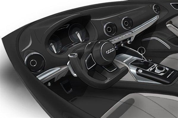 Interiorul noului Audi A3 va miza pe simplitate, dar si pe un aspect mai sportiv