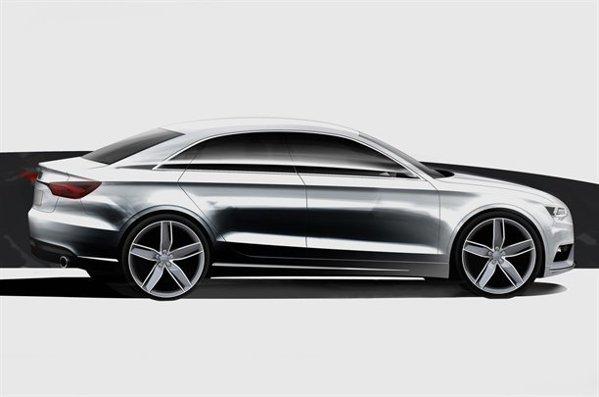 Audi A3 Sedan se va alatura familiei de sedanuri dinamice Audi