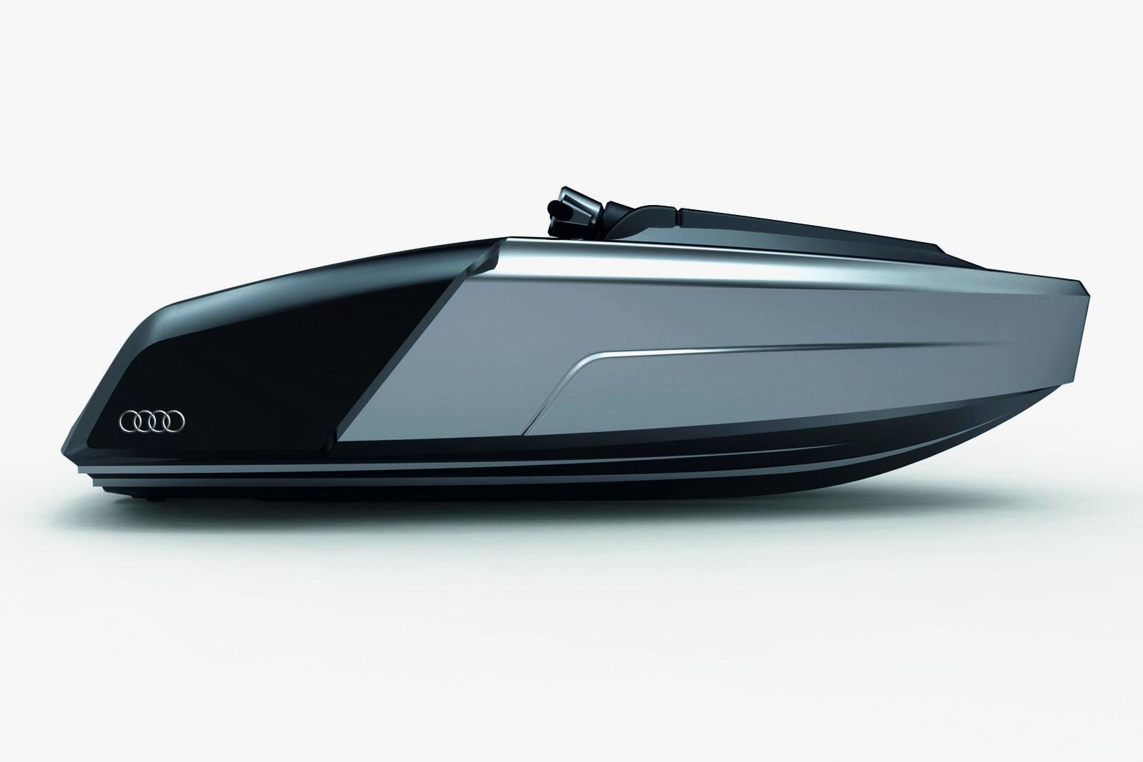 Imagini Concept Design Audi Trimaran Hybrid Yacht