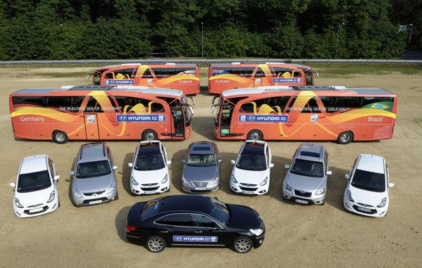 Flota completa Hyundai