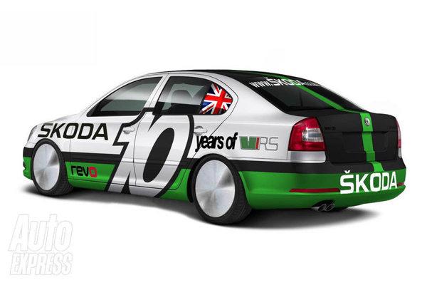 Skoda Octavia RS Boneville vrea sa depaseasca 200 mph, adica 320 km/h