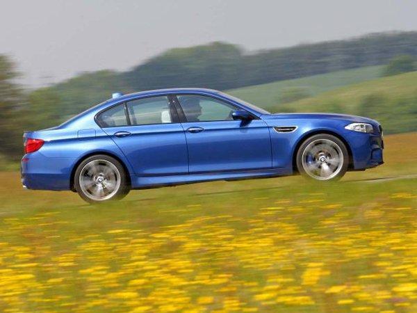 Conceptul BMW M5 a fost transpus aproape nemodificat in realitate