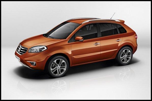 Renault Koleos facelift are partea frontala serios modificata, cu o identitate mai reusita