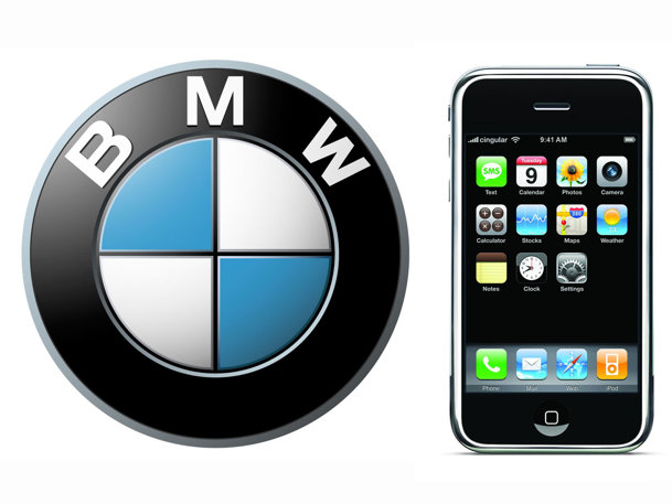 Compatibilitate BMW şi iPhone