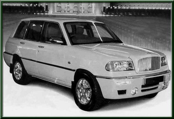 In 1994, sultanul din Brunei a comandat 6 modele Bentley bazate pe Range Rover