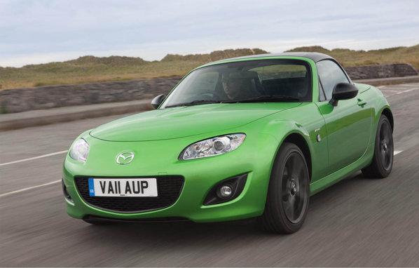 Mazda MX-5 Black Edition va fi oferita doar pentru britanici, in 500 de exemplare