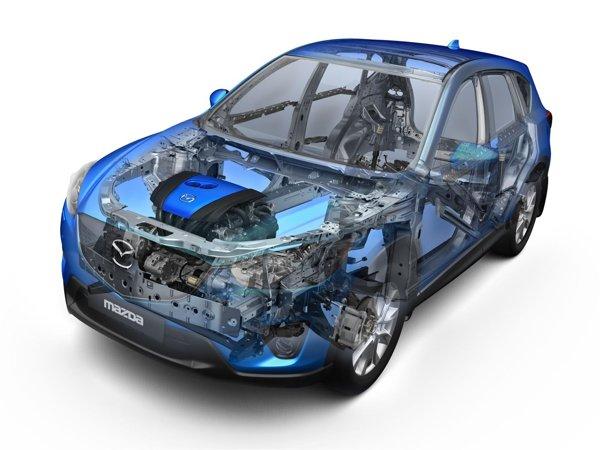 Mazda CX-5 este primul model care beneficiaza de toate elementele tehnologiei SKYACTIV